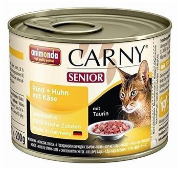 Animonda Carny Senior Rind, Huhn & Käse (200 g)
