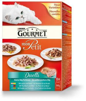 Gourmet Mon Petit mit Fleisch & Fisch 12 x 50 g