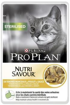 Purina Pro Plan Sterilised Huhn 24x85g