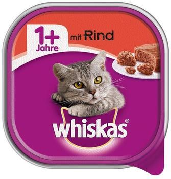 Whiskas 1+ mit Rind 32 x 100 g