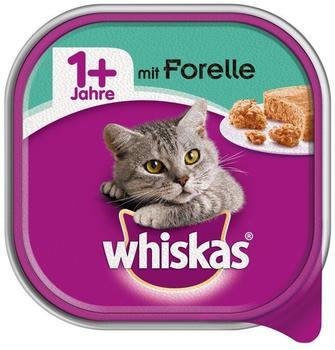 Whiskas 1+ Katzenfutter Forelle 32 x 100 g