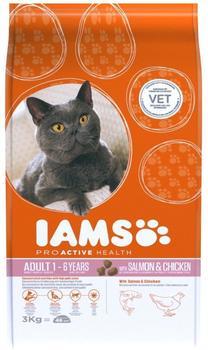 IAMS Adult Lachs & Huhn 3 kg