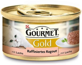 Gourmet Gold Raffiniertes Ragout Lachs 12 x 85 g