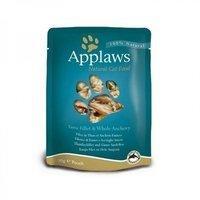 Applaws Cat Pouch mit Thunfischfilet & Sardellen - 12 x 70g