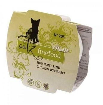 Catz finefood Mousse No. 205 Huhn & Rind 12 x 100 g