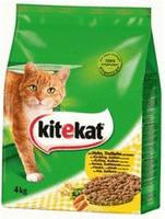 Kitekat Katzenfutter Huhn und Gemüse, 5 Packungen (5 x 900 g)