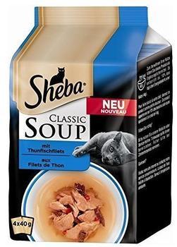 Sheba Soup Thunfischfilet 4 x 40 g
