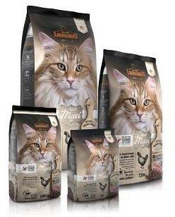 Leonardo 2 x 7,5 kg Leonardo Adult Maxi GF Katzenfutter glutenfrei ab 1 Jahr+Spielpaket 3