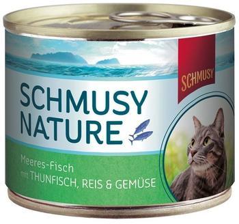 SCHMUSY Thun & Gemüse, 12er Pack 12 x 185 g)