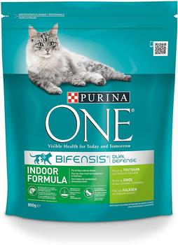 Purina 6 x 800 g Purina ONE Indoor Formula
