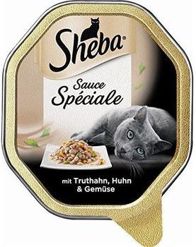 Sheba Sauce Spéciale mit Truthahn, Huhn & Gemüse