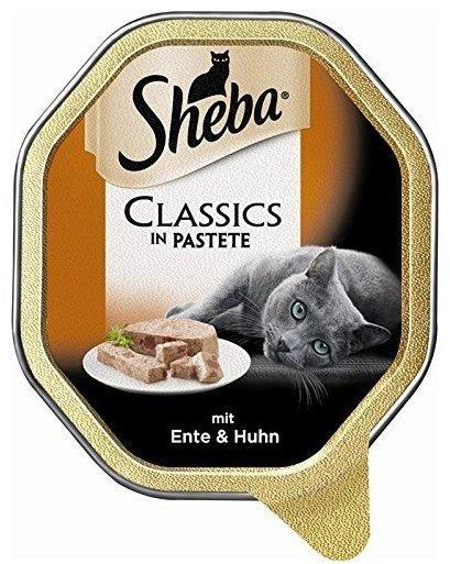 Sheba Classics in Pastete Ente & Huhn 85 g