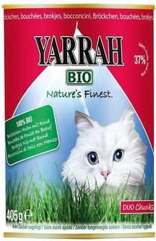 Yarrah Bröckchen Huhn & Rind (405 g)