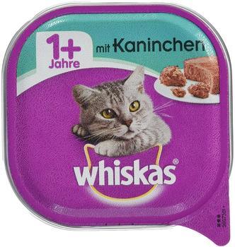 Whiskas 1+ Katzenfutter Kaninchen 32 x 100 g