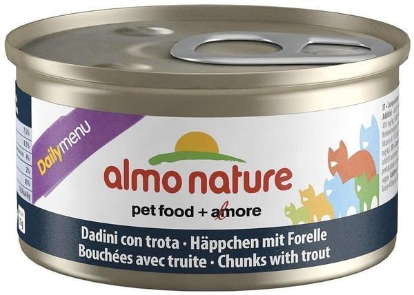 Almo Nature Dailymenu Häppchen mit Forelle (85 g)