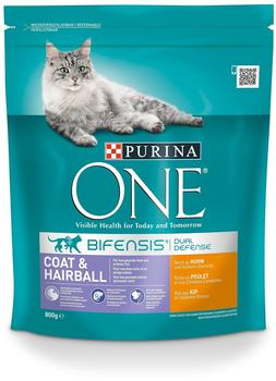 Purina Coat & Hairball Huhn 800 g