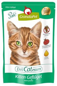 GranataPet - Nassfutter - DeliCatessen Kitten Geflügel 12 x 85g (getreidefrei)