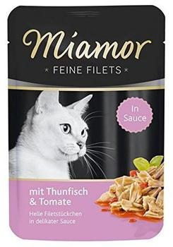 Miamor | Feine Filets Thunfisch in Tomatenjelly 24 x 100 g)