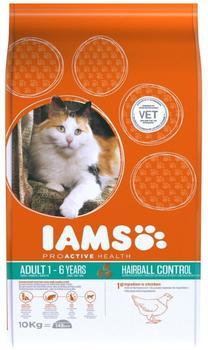 IAMS Katze Trockenfutter Adult Hairball Control - 10kg