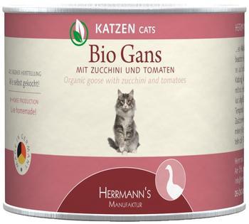 HERRMANNS Herrmanns | Bio-Gans mit Zucchini und Tomate, 12er Pack (12 x 200 g)