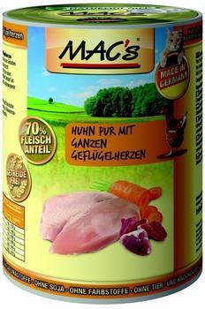 MACs Cat Huhn mit ganzen Geflügelherzen - 6x400g