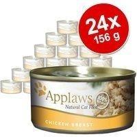 Applaws 24 x 156 g Applaws in Brühe, Makrele & Sardinen