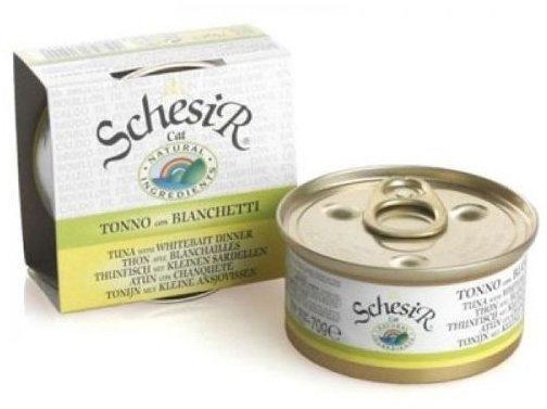 Schesir Brühe Thunfisch mit Sardellen (70 g)