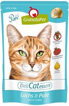 GranataPet - Nassfutter - DeliCatessen Lachs Pute 12 x 85 g)