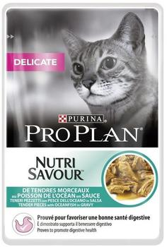 Purina Pro Plan Cat Delicate Oceanfish 85g(UMPACKGROSSE 24 x 85g
