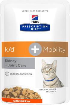 Hills k/d + Mobility - Feline k/d+Mobility Chicken Katzenfutter Nass