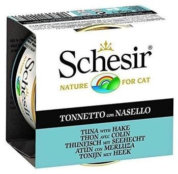 Schesir Cat Jelly Thunfisch/Seehecht | 14x85g Katzenf