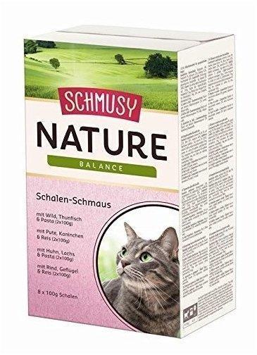 SCHMUSY Nature Schalenschmaus Multibox 8x100g