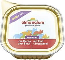 Almo Nature Mit Rindfleisch - Schale 32x100g