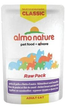 almo nature HFC Raw Pack Hühnerbrust & Entenfilet 24 x 55 g