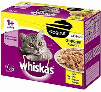 Whiskas 1+ Ragout in Gelee