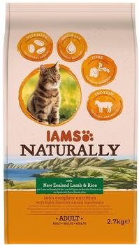 Iams Naturally Cat Adult Lamb