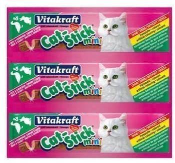 Vitakraft Katzensnack Cat-Stick mini Ente & Kaninchen - 60 x 6g