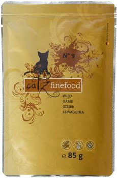 catz finefood Katzenfutter No.9 Wild 85 g, 8er Pack (8 x 85 g)