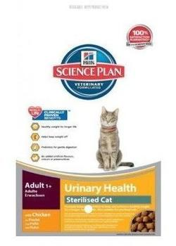 Hills 3 kg Hill's Science Plan Feline Adult Urinary & Sterilised Huhn