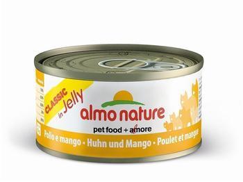 Almo Nature Classic in Jelly Huhn mit Mango - Dose 24x70g