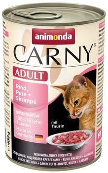 Animonda Carny Adult, Rind, Pute - Kaninchen