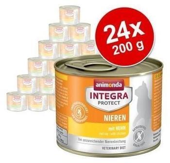 Animonda Integra Protect Niere Huhn | 6x 200g Nassfutter für Katzen