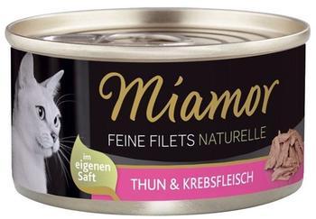 Miamor Feine Filets naturelle Thun - 24x80g