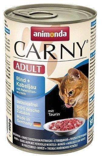 Animonda Carny Adult Rind & Kabeljau & Petersilie 400g