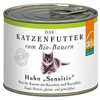 Defu Das Katzenfutter vom Bio-Bauern Huhn Sensitiv 200 g
