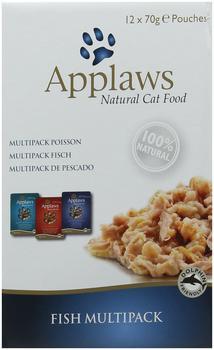 Applaws Multipack Fisch, 1er Pack (1 x 70 g