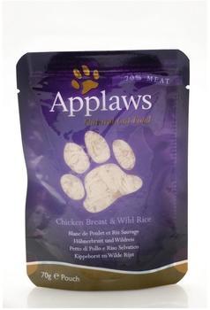 Applaws Beutel Hühnchen mit Wildreis (70 g)