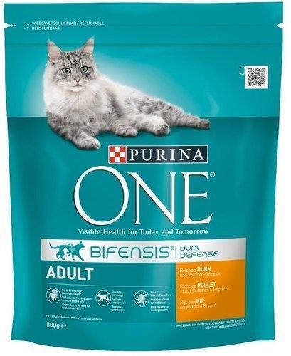 Purina One Adult Huhn & Vollkorn-Getreide 800 g
