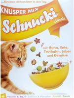Schnucki classic Knusper Mix mit Huhn, Ente, Truthahn, Leber und Gemüse