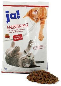 Rewe ja! Knusper-Mix mit Rind, Wild, Leber, Lamm und Gemüse